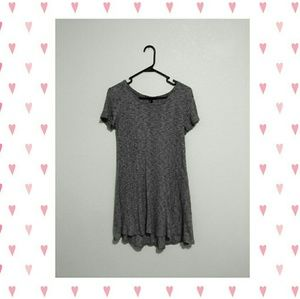 Forever 21 grey t-shirt dress
